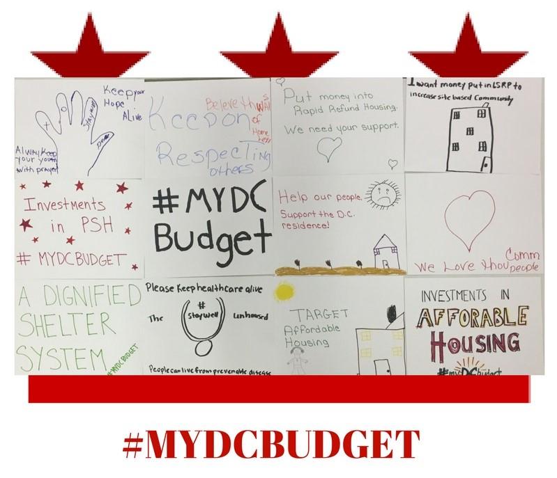 #MYDCBUDGET