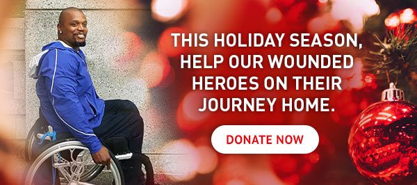 Help wounded veterans on their journey home