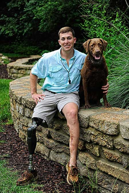 Message from a wounded warrior