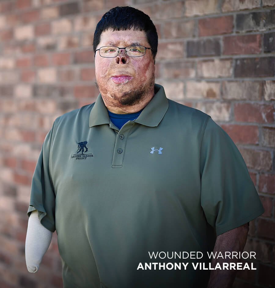 Photo of a Wounded Warrior