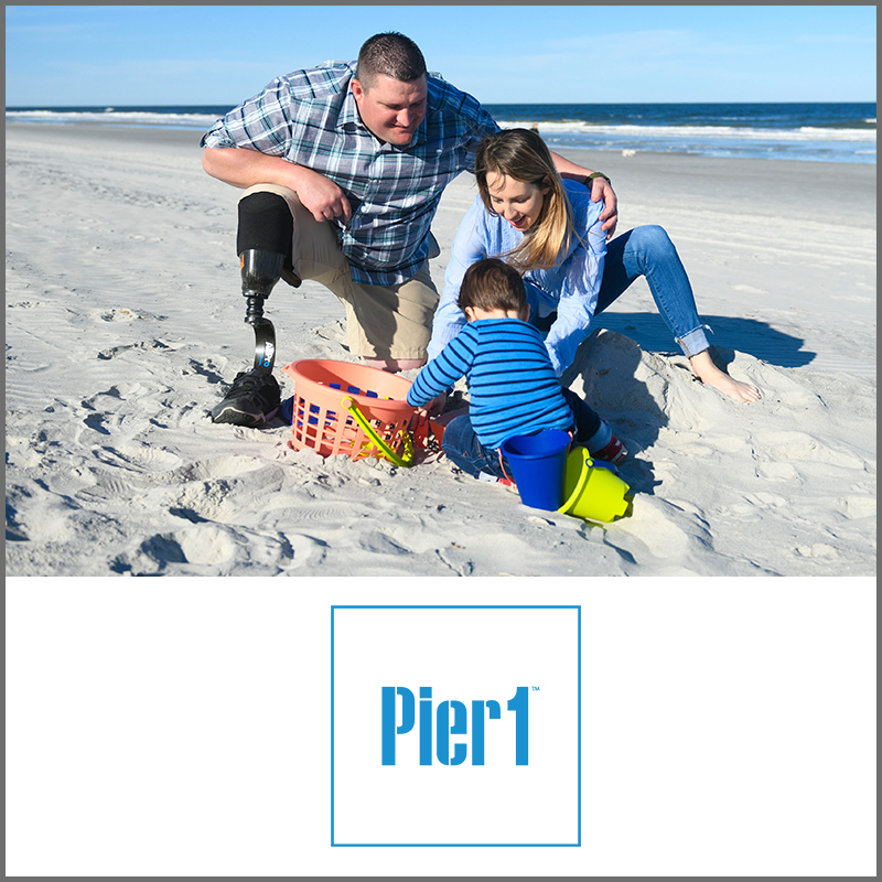 Pier 1 Helps Wounded Warriors.