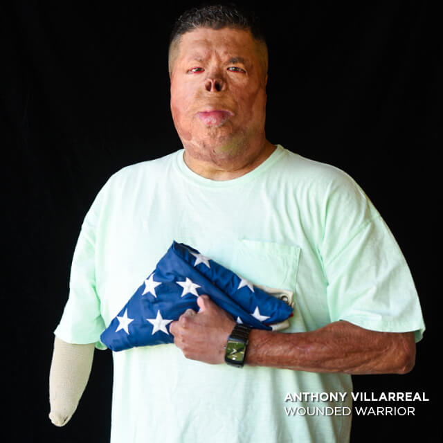 Anthony Villarreal, Wounded Warrior