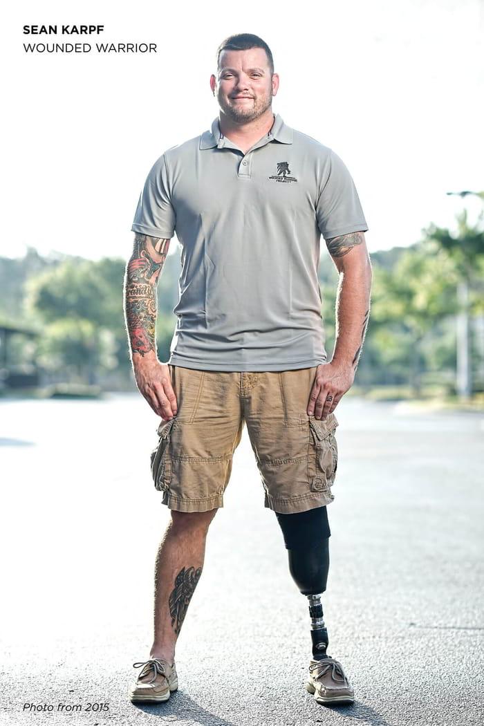 Wounded Warrior, Sean Karpf