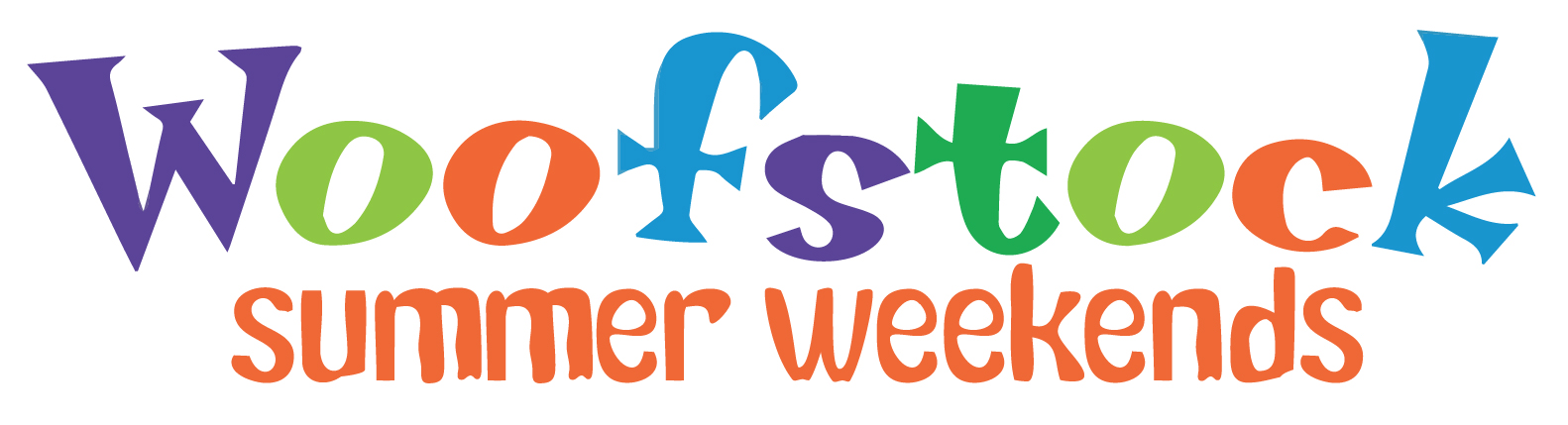 Woofstock Summer Weekends Logo